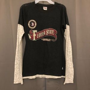 Soffe FSU Seminoles long sleeve top medium